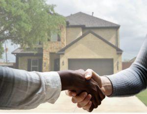 Maison, Immobilier, Agent, Vendu, Poignée De Main