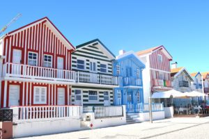 Aveiro, Maisons Colorées, Portugal, Belles Maisons