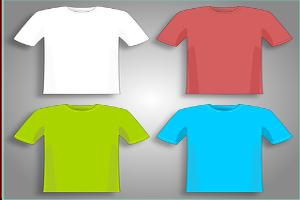 T-Shirt, T-Shirts, Chemise, Shirts, Vert